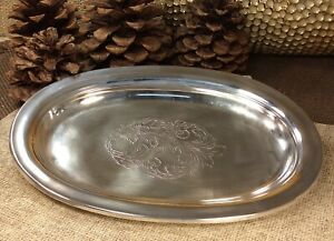 Vintage Towle Old Master 270 Sterling Silver Tray Platter Over 118grams
