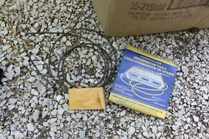 Vintage Nos Perfection Speedometer Cable Housing Assemblies With Box Car Part