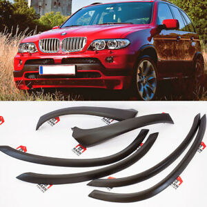 Bmw X5 E53 4 6is 4 8is Style Extended Wheel Arch Fender Flare Set 6 Psc