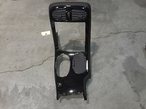 08 13 Corvette C6 Center Console Radio Shifter Bezel Carbon Fiber Look Aa6457