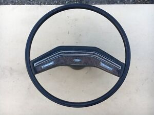 78 79 80 86 Ford Truck Bronco Cruise Control Steering Wheel Wood Grain 1979