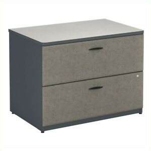 Bush Business Series A 36 Lateral File Cabinet In Slate