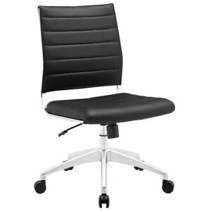 Modway Jive Armless Office Chair In Black