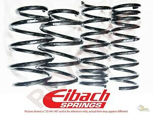 Eibach Pro Kit Lowering Springs For 92 95 Honda Civic 93 97 Del Sol