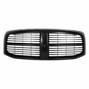 For 2006 2007 2008 Dodge Ram Pickup 1500 Ft Front Grille Black argent