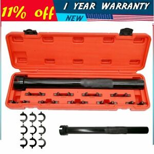 New 11pcs Inner Tie Rod Wrench Kit Installer Remover Tool For Auto Car Truck Red