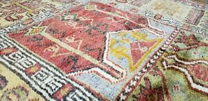 Fine Antique 1940 1950 S Wool Pile Muted Natural Dye Inlice Prayer Rug 3 4 4 7