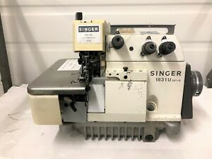 Singer 1831u Late Model High Speed Heavy Duty Serger Industrial Sewing Machine