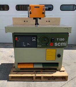 Scmi T130 Spindle Shaper 9hp 1 1 4 Spindle 101446