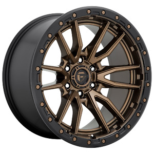 Fuel Rebel 17x9 1 Matte Bronze Wheel 6x139 7 qty 1