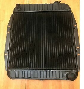 Radiator Re cored 1964 1965 Chevy Gmc Vans For 153 194 Engines