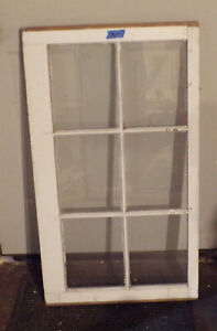 1920 S Vintage 6 Pane Sash Window