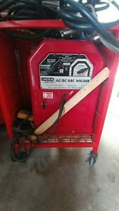 Lincoln 225 Amp Arc Stick Welder With Extras