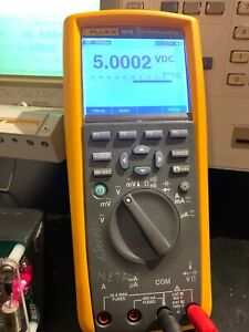 Fluke 189ii Tru Rms Multimeter With Leads Used Tested Ships Free