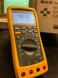 Fluke 189 Tru Rms Multimeter With Leads Used Tested Ships Free