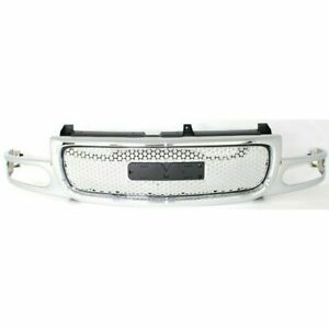For 2000 2001 2002 2003 2004 2005 2006 Gmc Yukon Denali Grille Chrome Sliver