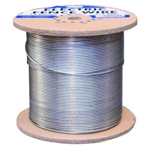 Electric Fence Wire 1 4 Mile Galvanized 14 Gauge Cattle Cows Goats Farm Grazing