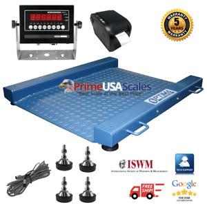 Op 917 Drum Floor Scale With Label Printer Legal Trade Ntep 2 000 Lb X 5 Lb