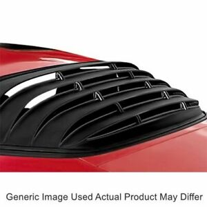 Astra Hammond 1002 One Piece Rear Window Louvers For Camaro And Trans Am 75 81