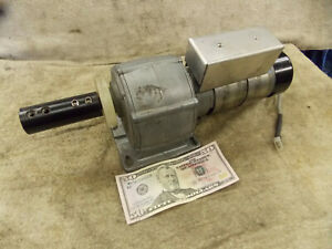 Parvalux Electric 24 Vdc Gear Motor And 24600 Gearbox 9 Rpm Grill Rotisserie