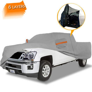 6layers 100 Waterproof Truck Cover All Weather Protection Pickup Truck Cover
