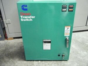 Onan Ot70 Automatic Transfer Switch 70 Amp 480 Volt 3 Phase