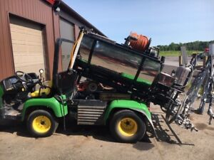 John Deere Pro Gator Diesel 4x4 With Chem Turf 20 Spray Boom