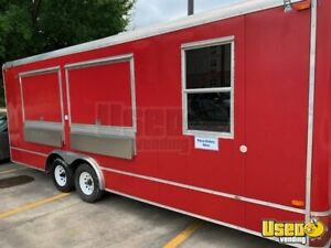 2010 8 X 28 Food Concession Trailer For Sale In Texas