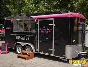 2000 7 X 16 Mobile Kitchen Food Concession Trailer For Sale In Georgia