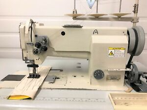Artisan 4420 rb Two Needle Walking Foot 1 1 2 110v Industrial Sewing Machine