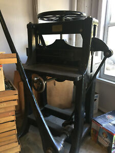 Antique Chandler Price 26 Guillotine Paper Cutter
