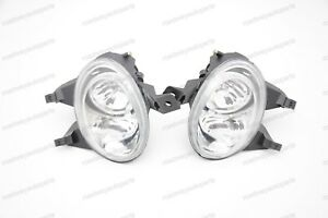 1pair Clear Fog Lights Driving Bumper Lamps For Peugeot 206 206cc 1999 2005