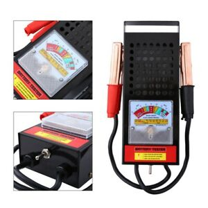 New Battery Load Tester 100 Amp Load Type 6v 12v Mechanics 6 12 Volt Car Truck