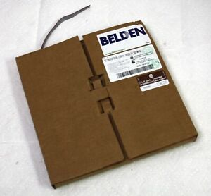 New Belden 9l28010 008 Grey 10 Conductor 28 Awg Flat Ribbon Cable Partial Roll