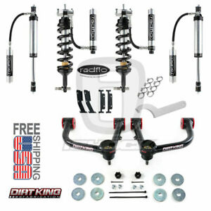 Radflo 2 5 Shocks W Res Dirt King Mid Travel Toyota Tacoma 2005