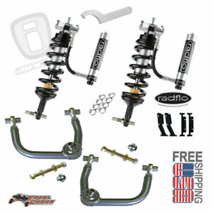 Radflo 2 5 Shocks W Res Total Chaos Mid Travel W Heims Front Tacoma 2005