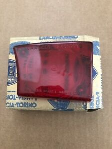 Lotus Europa S1 47gt Lancia Fulvia Rear Tail Light Lens Red Left Side Nos