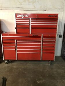 Snap on Tool Boxes Base Cabinet And Top Box
