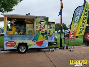2009 7 X 10 Lark Shaved Ice Concession Trailer With For Sale In Virginia