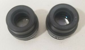 Carl Zeiss 10x 22b Magnetic Lens Eyepieces Objectives For Opmi Microscope