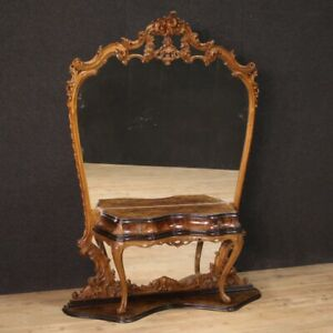 Cheval Mirror Furniture Console Table Bedroom Set Antique Classic Style Vintage