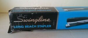 Swingline Long Reach Stapler Built In Ruler Paper Stop