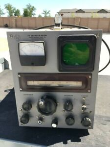 Vintage Radio Specialty Rs Fm Deviation Meter Tested Works Good Condition