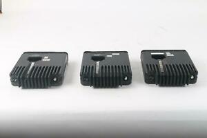 Motorola M01hx 914w 2 Way Radio Lot Of 3