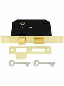 Standard Mortise Lockset With Strike Plate And Keys