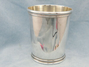 Vintage Solid Sterling Derby Mint Julep Cup By Manchester 895 No Mono