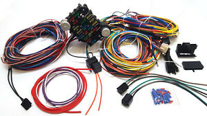 1937 1940 Chevy Business Coupe 21 Circuit Wiring Harness Wire Kit New Chevrolet