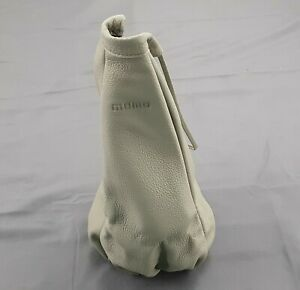 Momo Gear Shift Shifter Boot Elegance Grey Gray Italian Leather Nos Skb Uni6
