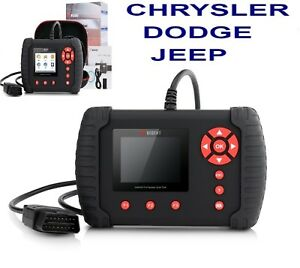 Chrysler Dodge Jeep Oe level Full System Diagnostic Scan Tool Vident Ilink400