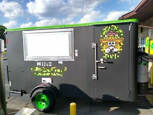 2000 6 5 X 12 Food Concession Trailer With 2019 Kitchen For Sale In Ohio